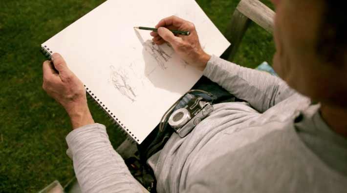 Close Sketch