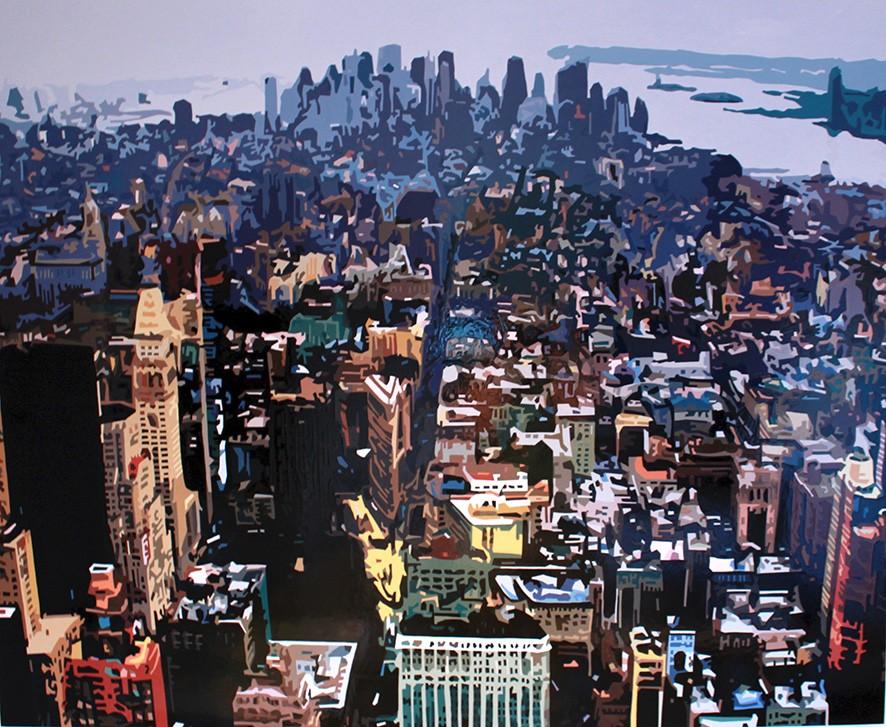 Manhattan VII, NYC 122 x 100cm