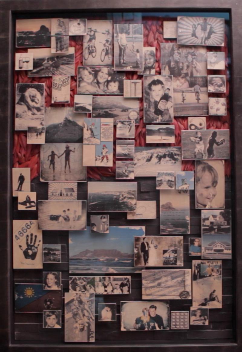Richard Fine Art Collage