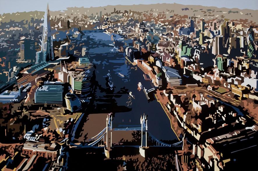 Tower Bridge IX, London 91x61cm(1)