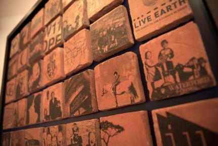 4 Terracotta tiled piece Kennish
