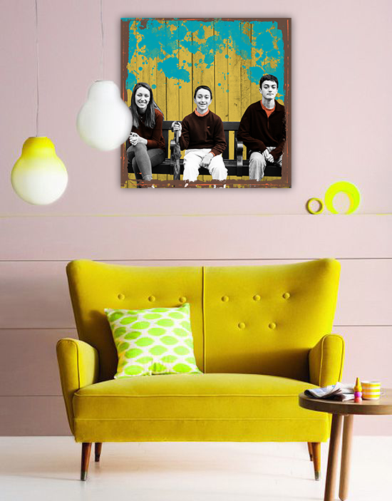 graphic art_yellowchair