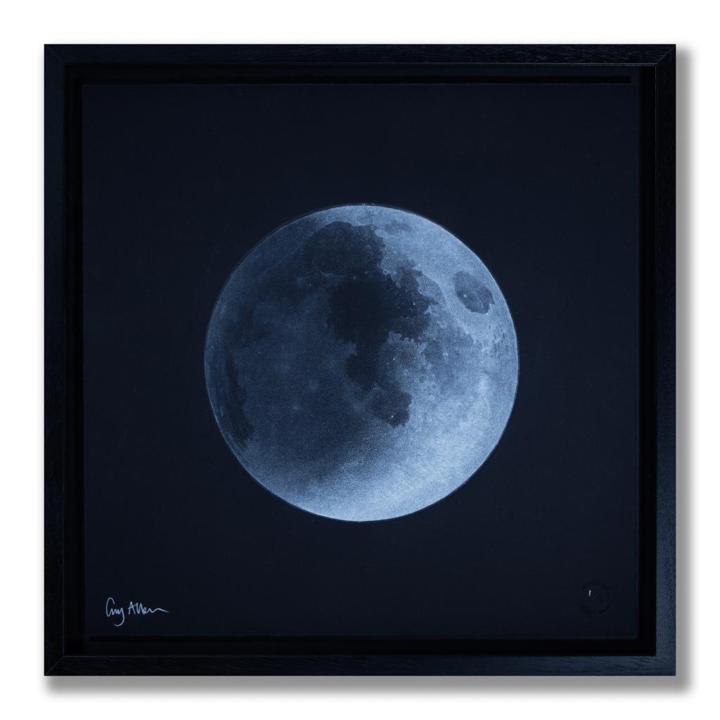 Moon Waxing Crescent Guy Allen