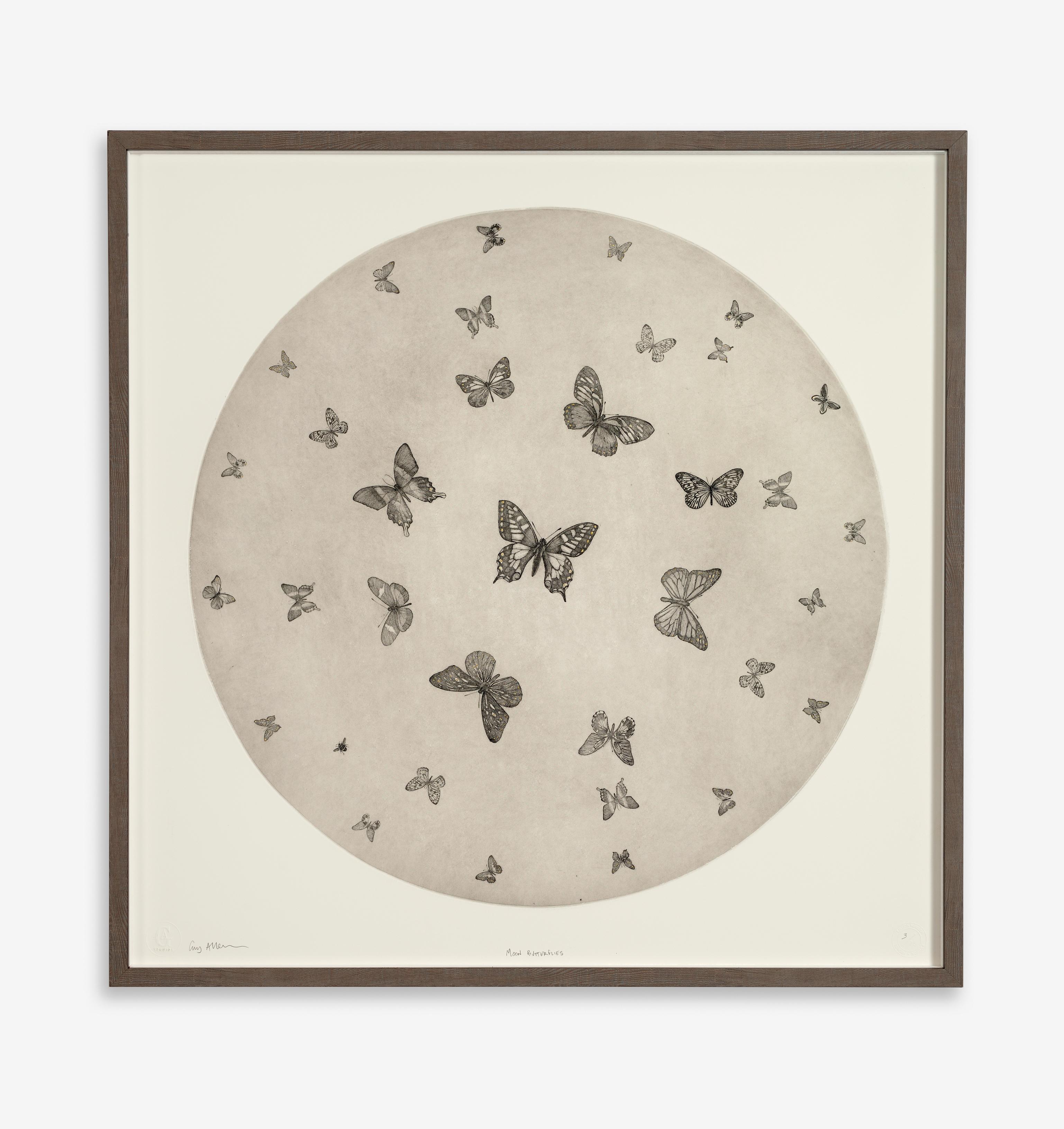 Guy Allen Moon Butterflies