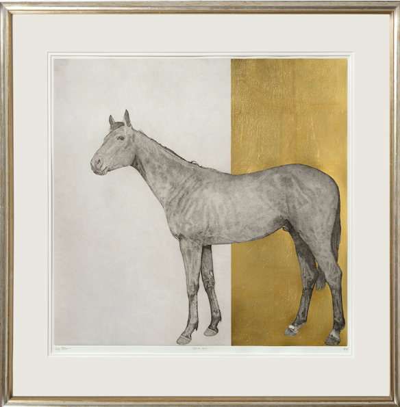 Guy_Allen_EquineGold_Etching_and_hand_finished_24ct_gold_leaf_82x80cm_£695plusVAT