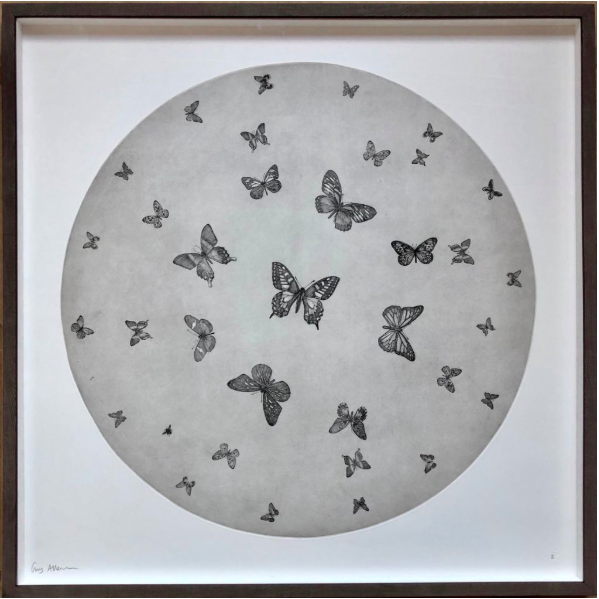 Guy_Allen_MoonButterflies_Etching_and_hand_finished_24ct_gold_leaf_100cmx100cm_£850plusVAT