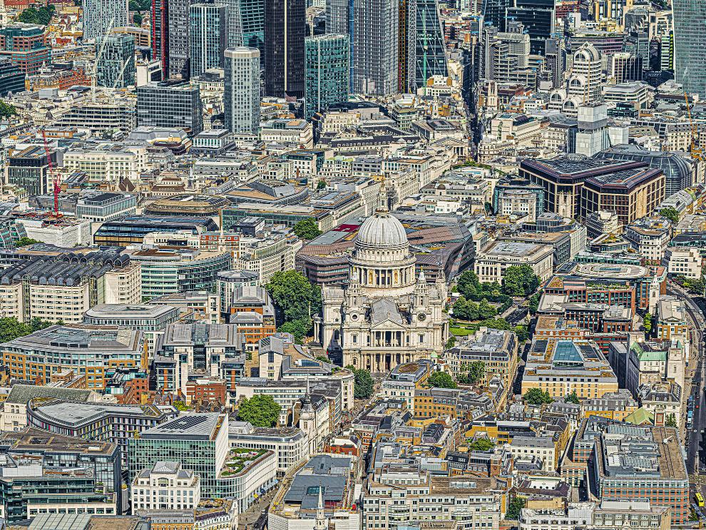 London City I Photograph Bernhard Lang