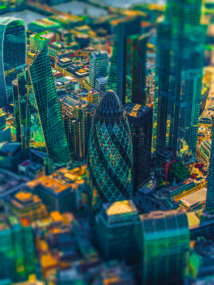 London City IV Photograph Bernhard Lang