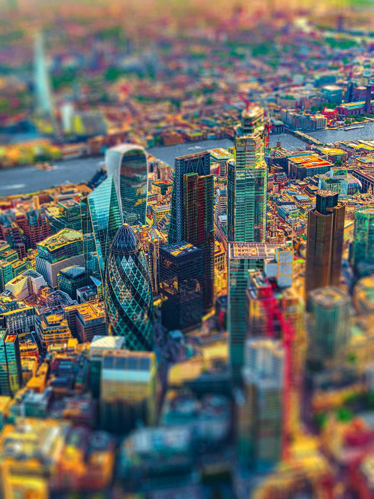 London City V Photograph Bernhard Lang