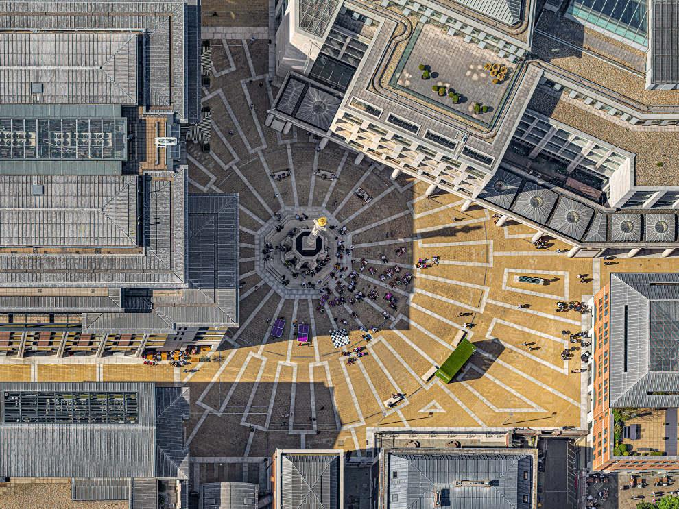 London Paternoster Square Photograph Bernhard Lang